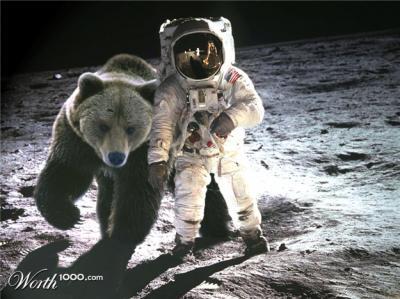 paseo en la luna azul